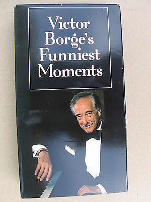 Victor Borge's Funniest Moments VHS Video