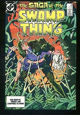 Swamp Thing 23 NM+ Alan Moore
