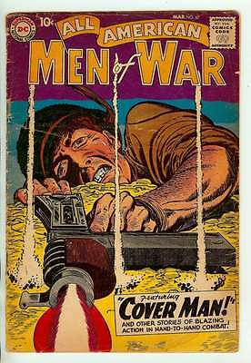 All American Men Of War #67 3.5