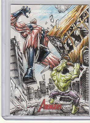 2012 Marvel Greatest Heroes Anthony Tan sketch card