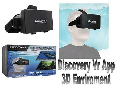 Discovery Channel Virtual Reality Glasses 3D View Discovery Vr App Gadget Gift