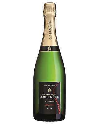 A.Bergere Brut Cuvee case of 6 Champagne Sparkling White Wine Non Vintage 750mL