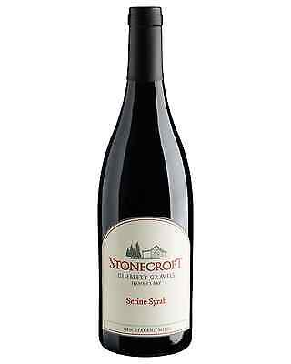 Stonecroft Serine Syrah 2014 case of 12 Dry Red Wine 375mL Hawke's Bay