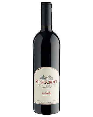 Stonecroft Zinfandel 2014 case of 6 Dry Red Wine 750mL Hawke's Bay