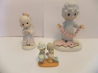 Precious Moments figurines  Lot of 3