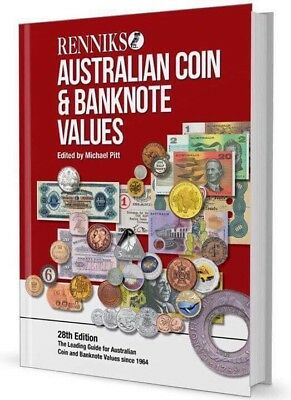 Latest Edition - Australian Coin & Banknote Values Book 27th issue
