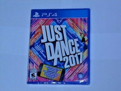 JUST DANCE 2017 (Playstation 4 *NEW*)
