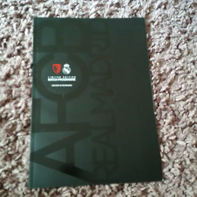 AFC Bournemouth Real Madrid 2013 Programme nt Champions League ticket Premier