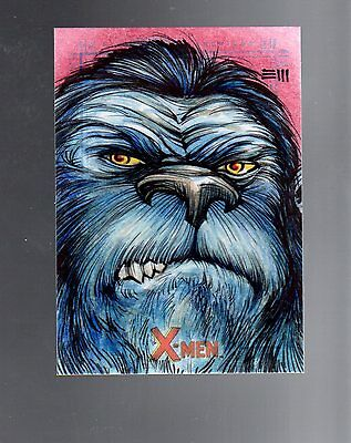 X-Men Archives Eric Maell sketch card