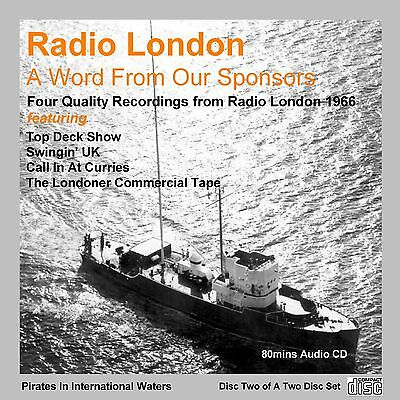 Pirate Radio - Radio London BIG L 'A Word From Our Sponsors' Volume 2 (Audio CD)