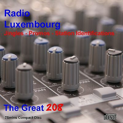 Pirate Radio - Radio Luxembourg The Jingles Collection on Compact Disc (CD)