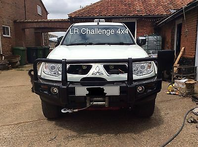 Mitsubishi L200 Front HD Heavy Duty Front Bumper With Winch Mount Off Road