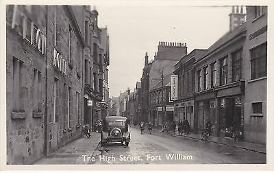 The High Street & Fraser's Restaurant,  FORT WILLIAM, Inverness-shire RP