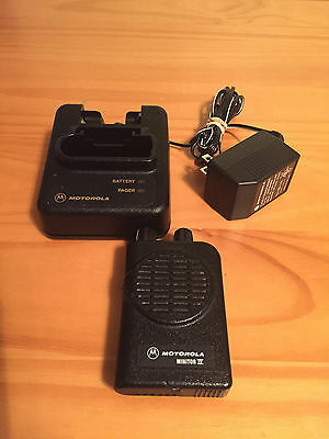 Motorola Minitor IV (4) VHF Pager - Stored Voice