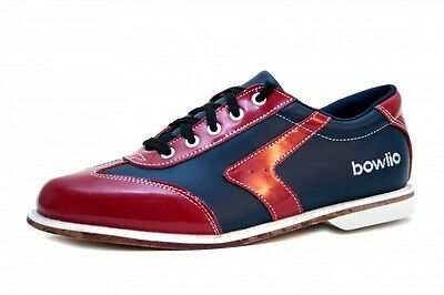 Bowling-shoes - Bowlio Verona - Real Leather with Leather sole Unisex Children's