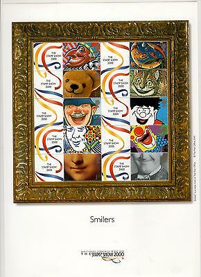 Great Britain  Smilers Stamp Show 2000   MNH