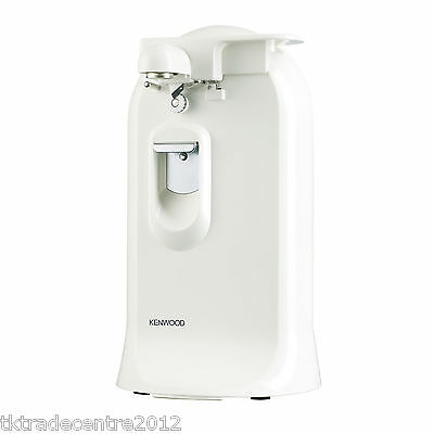 Kenwood CO600 3-in-1 Can Opener with Knife Sharpener and Bottle Opener in White