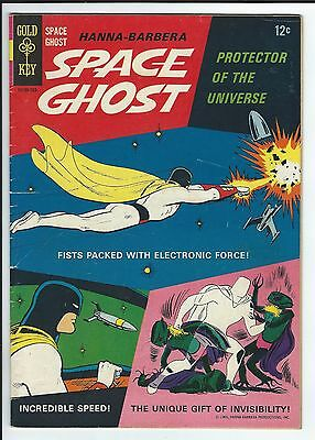 1966 Gold Key Space Ghost #1: Fn- First Appearance Of Space Ghost