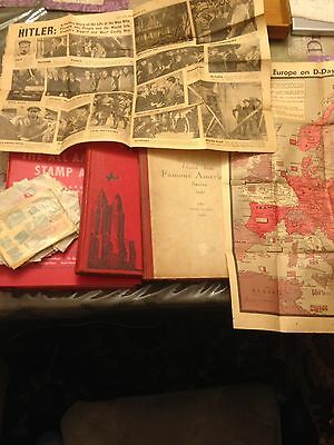 Stamps and News Articles
