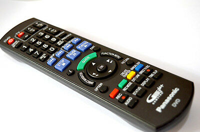 Genuine Remote Control For Panasonic Blu-Ray Dvd Dmr-Pwt500Eb Dmr-Bwt700