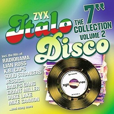 """Various Artists - Zyx Italo Disco: The 7"""" Collection 2 [New CD]"""