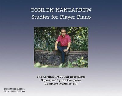 Studies for Player Piano (4CD) Audio CD