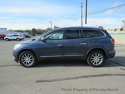2014 Buick Enclave FWD 4dr Leather FWD 4dr Leather SUV Automatic Gasoline V6 Cyl BLUE