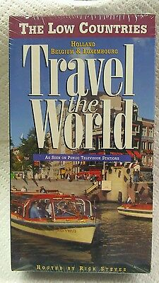 Railraod HOLLAND-BELGIUM-LUXEMBOURG THE LOW COUNTRIES Travel vhs.NEW