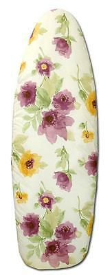 NEW EZY IRON Double Sided Reversible Padded Ironing Board Cover Covers floral