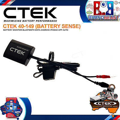 Ctek 40-149 Battery Sense Battery Monitor Bluetooth Data Android Iphone App