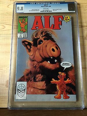 ALF #1 (Mar 1988, Marvel) CGC 9.8 NM/MT Photo cover Based on NBC TV series