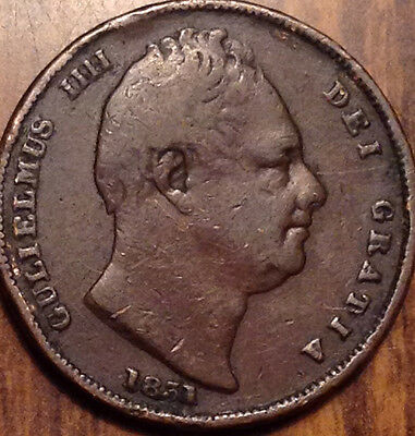 1831 Gb Farthing Good Example In Good Condition