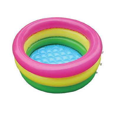 Inflatable INTEX SUNSET Swimming Pool Baby Kid Toddler 3 Tube 60cm*30cm ZXX
