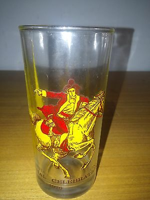 Paul Revere Bicentennal Glass with Old North Church