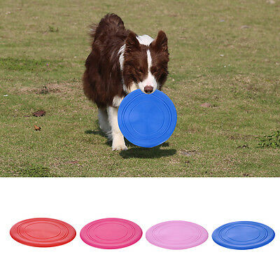New Frisbee Flying Disc Tooth Resistant Outdoor Large Dog Training Fetch Toy