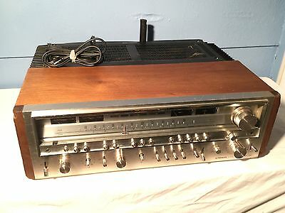 Vintage Pioneer SX-1280 Stereo Receiver - 185 Watt Per Channel Tested FREE SHIP