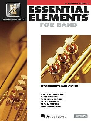 Essential Elements For Band Bk2 Trumpet Eei