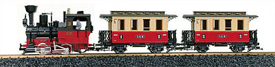 Lgb G Scale Passenger Starter Set | Ships In 1 Business Day | 72302