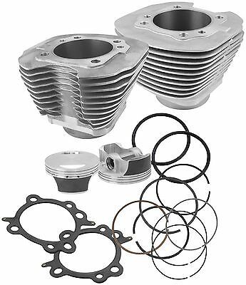 S & S Cycle 910-0205 Big Bore Kit 97in. Black Powder-Coated