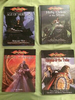 Sovereign Press Dragonlance D20 - Lot of 8 items (books and accessories)
