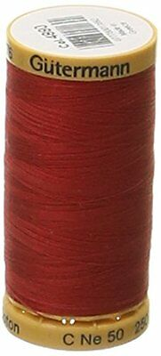 Gutermann cotone naturale Filo 273 yards-red