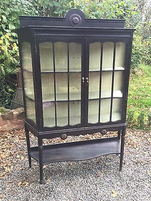 Antique Glazed Display Cabinet