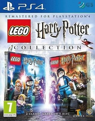 LEGO Harry Potter Collection PS4 * NEW SEALED PAL *