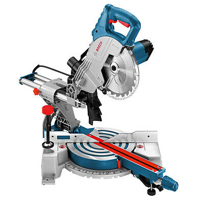 New Bosch GCM 800 SJ Sliding Mitre Saw 8In GCM800SJ 110v (2301)
