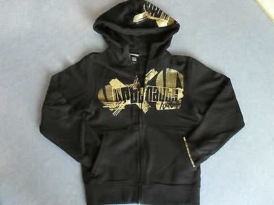 H&M Young Girls Black Hoodie (Very Good Condition)