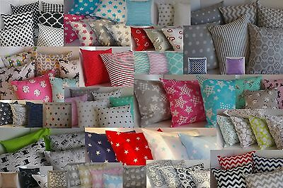 PILLOWCASE Cushion Cover Home Sofa Decoration 100% cotton 40x40 *NEW PATTERNS*