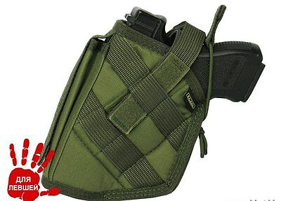 Pouch holster holster left  Walther Colt 1911 molle airsoft olive green od