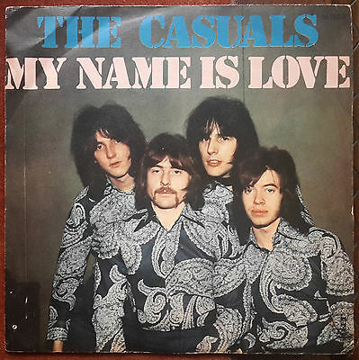 The Casuals - My Name Is Love / I Can't Say - 7' 1970 Ita 45 Giri