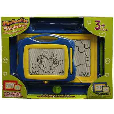 Magnetic Sketcher Educational Drawing Board- Double Pack Big and Mini Board-Colo
