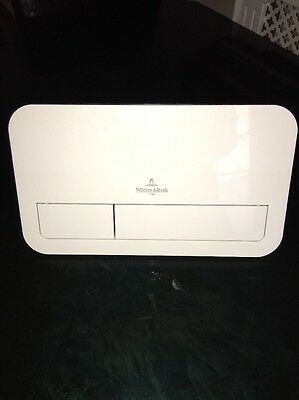 Villeroy Boch Push plate ViConnect white, V+B Pusher plate, 92249068